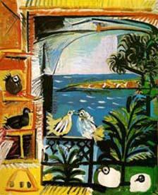 Pássaros na Janela - Picasso